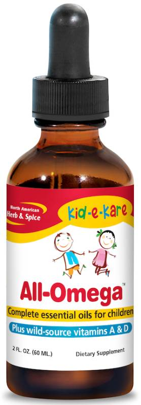 NORTH AMERICAN HERB & SPICE: kid-e-kare All Omega 2 OUNCE