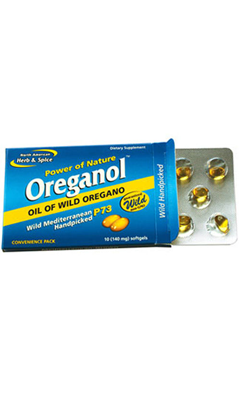 NORTH AMERICAN HERB and SPICE: Oreganol P73 Blister Pack 10 softgel