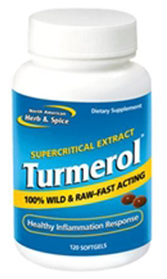 NORTH AMERICAN HERB And SPICE: Tumerol 120 softgel
