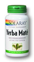 Solaray: Yerba Mate 100ct 450mg