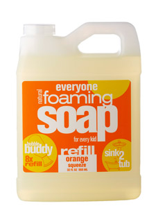 EO PRODUCTS: EveryOne Kid's Foaming Soap Refill Orange Squeeze 32 oz