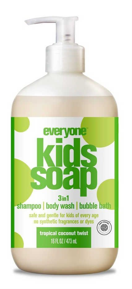 EO PRODUCTS: Everyone Soap Kids - Tropical Coconut Twist 16 oz