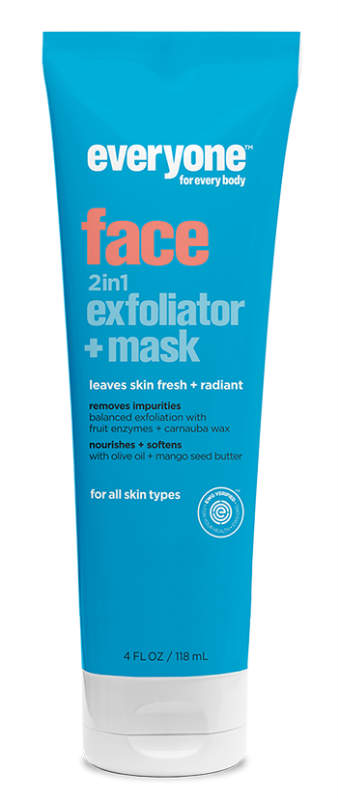 Face 2 in 1 Exfoliator/Mask Tube