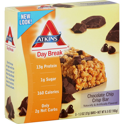 Chocolate Chip Crisp Day Break Bar