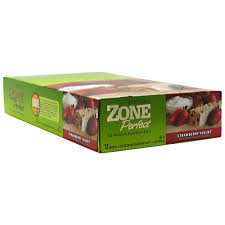 EAS: ZONE BAR STRAWBERRY YOGURT 12/BX