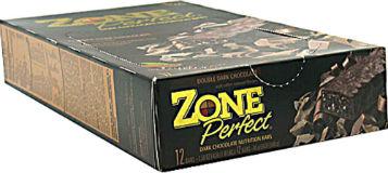 EAS: ZONE BAR DOUBLE DARK CHOCOLATE 12/BX