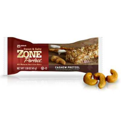 EAS: ZONE BAR CASHEW PRETZEL 12/BOX