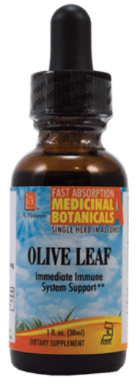 Olive Leaf Organic 1 oz from L A Naturals