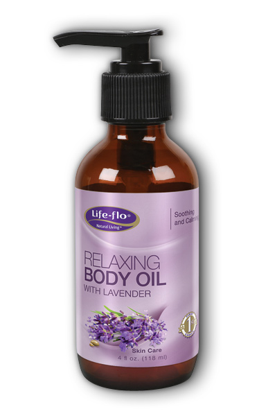 Life-flo health care: Relaxing Body Oil With Lavender 4 oz Liq