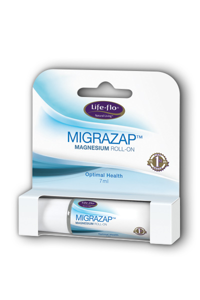 Life-flo health care: MigraZap Magnesium Roll-on (Lavender) 7 ml Liq