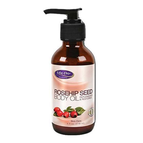 LifeFlo: Rosehip Seed Body Oil 4 oz Oil