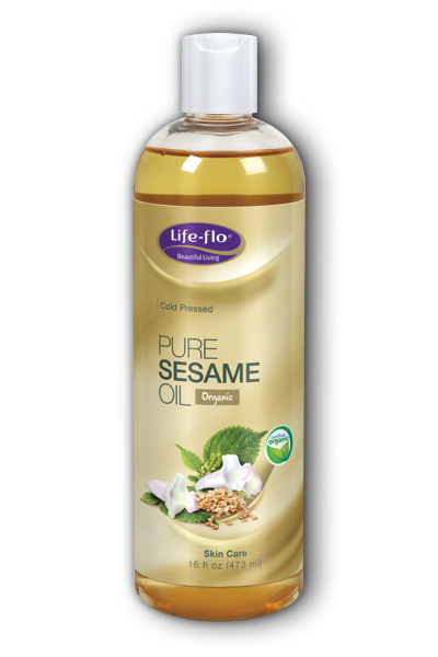 PURE SESAME OIL, 16OZ