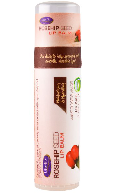LifeFlo: Rosehip Seed Lip Balm 0.25 oz Salve
