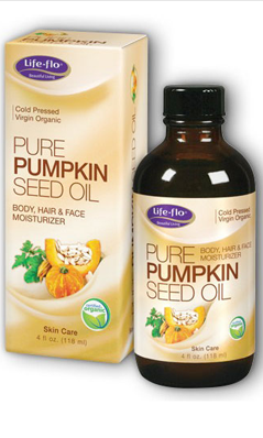 LifeFlo: Pure Pumpkin Seed Oil Virgin Organic 4 oz
