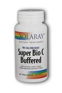 Super Bio C Buffered Two-Stage Time-Release Dietary Supplements