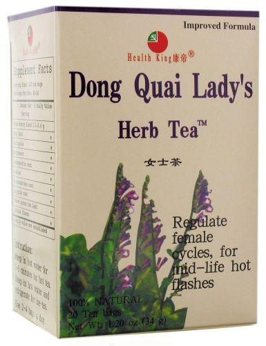 HEALTH KING: Dong Quai Ladys Tea 20 bag