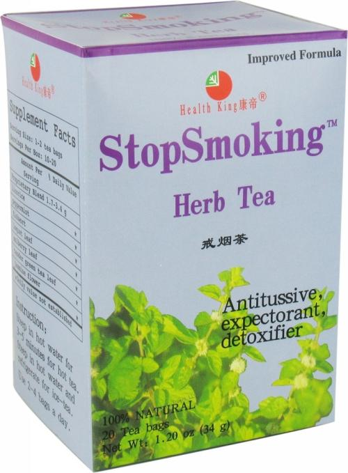 HEALTH KING: Stop Smoking Tea 20 bag
