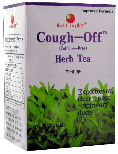 HEALTH KING: Cough Off Tea 20 bag