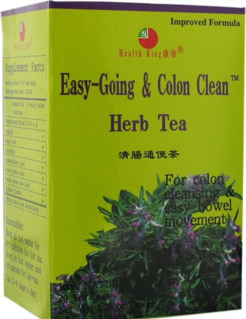 Easy Colon Cleaner: Easy Going Colon Cleanse Tea 20 Bag, $4.33ea From HEALTH KING