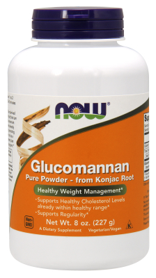 NOW: Glucomannan from Konjac Root 100 Precent Pure Powder 8 oz