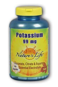 Natures Life: Potassium 99mg 250 ct