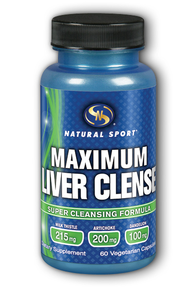 Supplement Training Systems: Maximum Liver Clense 60 Vegetarian Caps