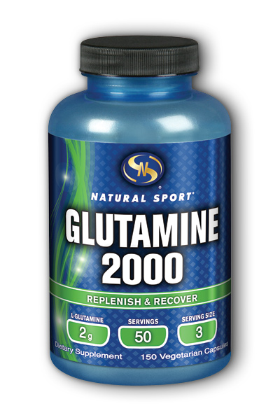 Glutamine 2000 XP 150 Vegetarian Caps from Supplement Training Systems