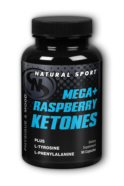 Natural Sport: Raspberry Ketones Mega Plus 90 ct 250mg
