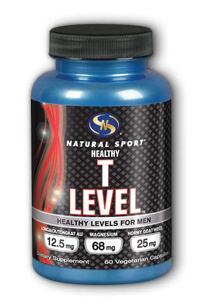 T Level Healthy Levels For Men, 60 Vegetarian Caps