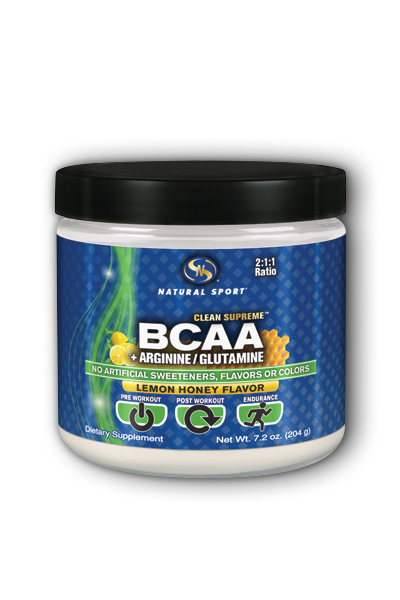 Natural Sport: BCAA Powder 204 g Pwd