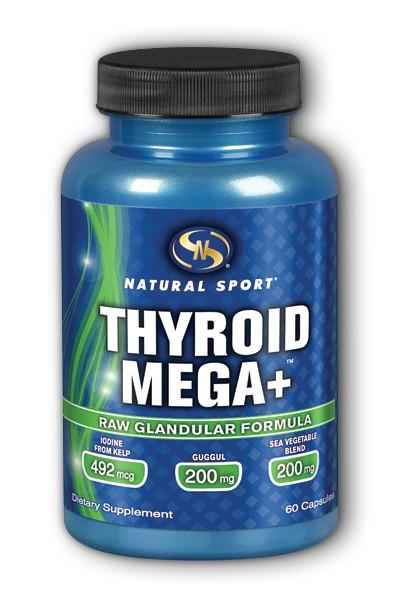 Natural Sport: Thyroid Mega+ 60 ct Capsule
