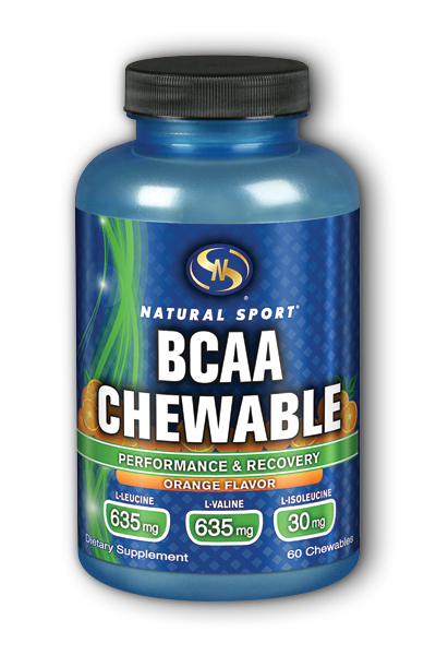 Natural Sport: BCAA (Orange) 60 ct Chw