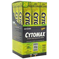 CYTOSPORT INC: CYTOMAX CITRUS 24/BX