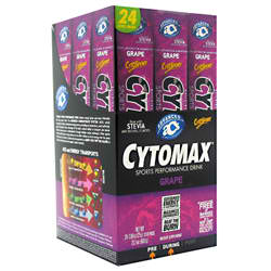CYTOSPORT INC: CYTOMAX GRAPE 24/BX