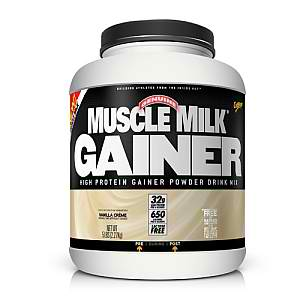 CYTOSPORT INC: MUSCLE MILK GAINER VANILLA CREAM 5 LBS