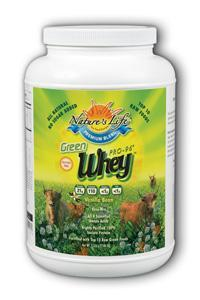 Natures Life: Green Whey Pro-96® Protein 3lb