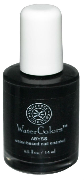 HONEYBEE GARDENS INC: WaterColors Nail Enamel Abyss 0.05 oz