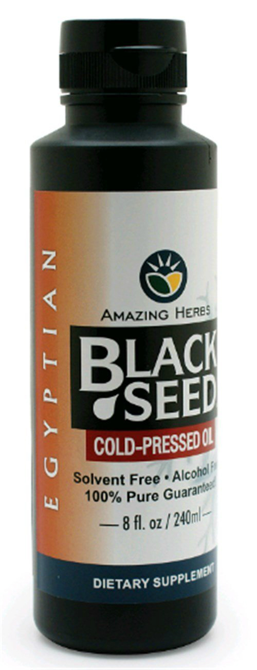Egyptian Black Seed Oil 8 oz from AMAZING HERBS
