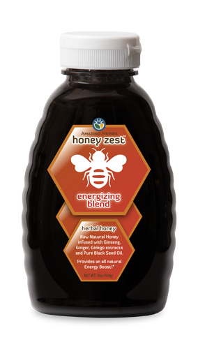 HoneyZest Energizing Honey