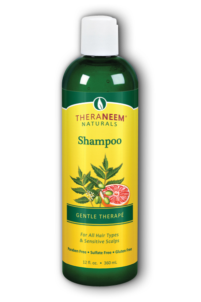 Organix South: TheraNeem Gentle Therape Shampoo 12 oz Liq