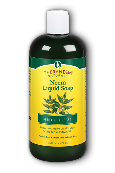 Organix South: Neem Liquid Soap Gentle Therape 16 oz