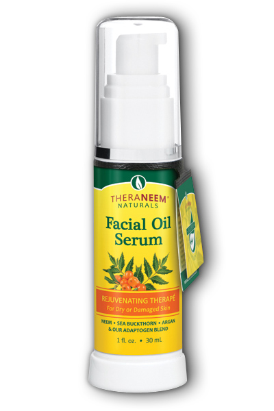 TheraNeem Facial Oil for Dry or Damaged Skin 1 oz Liq from Organix South