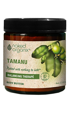 Organix South: MA - Tester - Naked Organix Tamanu Body Butter 3.77oz