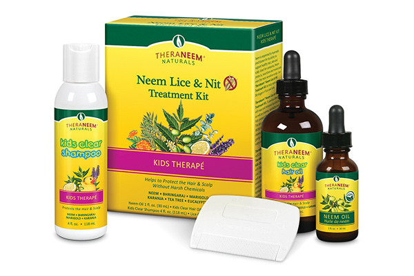 Organix South: Theraneem Neem Lice & Nit Treatment Kit 3btl