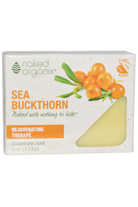 Organix South: TheraNeem Sea Buckthorn Cleansing Bar 4 oz Bar