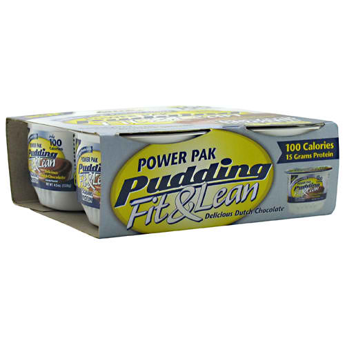 MHP: FIT & LEAN POWER PACK PUDDING CHOCOLATE 4.5 OZ