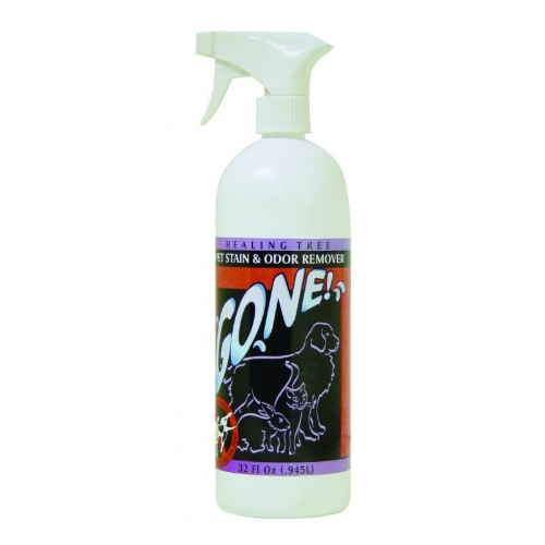 HEALING TREE PET: GONE! Pet Stain/Odor Remover Quarts 32 oz