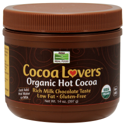 Cocoa Lovers Organic Hot Cocoa, 14 oz Powder