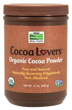 Pure Organic Cocoa Powder, 12 oz.