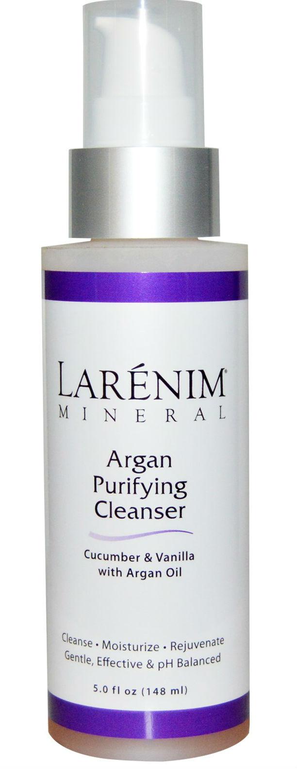 Larenim: Argan Purifying Cleanser Vanilla 5 oz